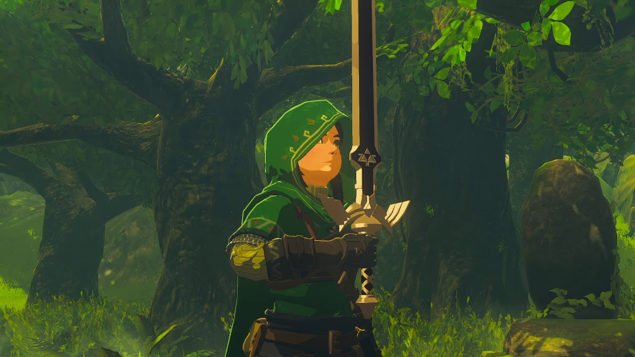 Zelda BOTW Master Trials DLC File Size Smaller on Switch