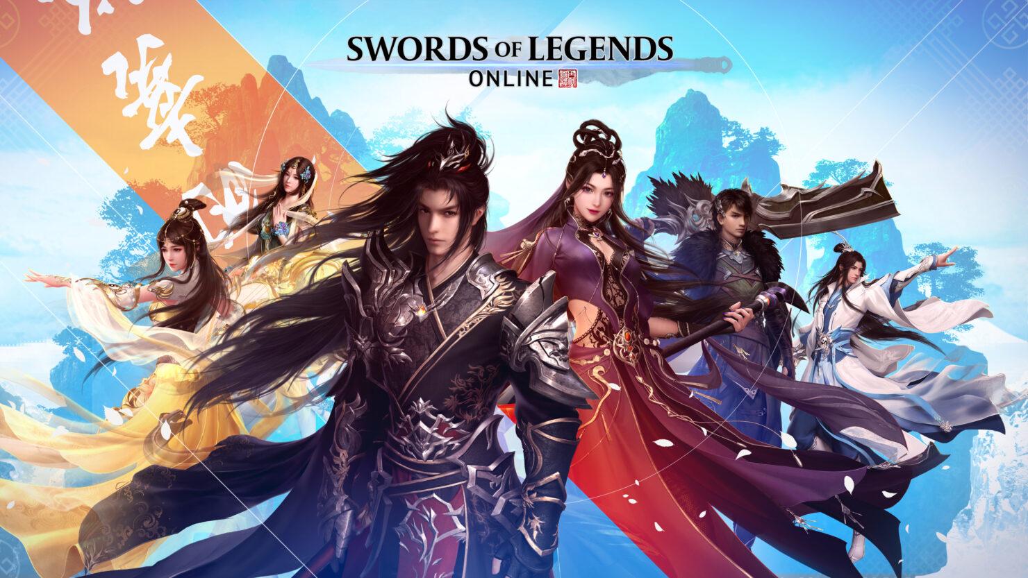 Swords of Legends Online Class Overview