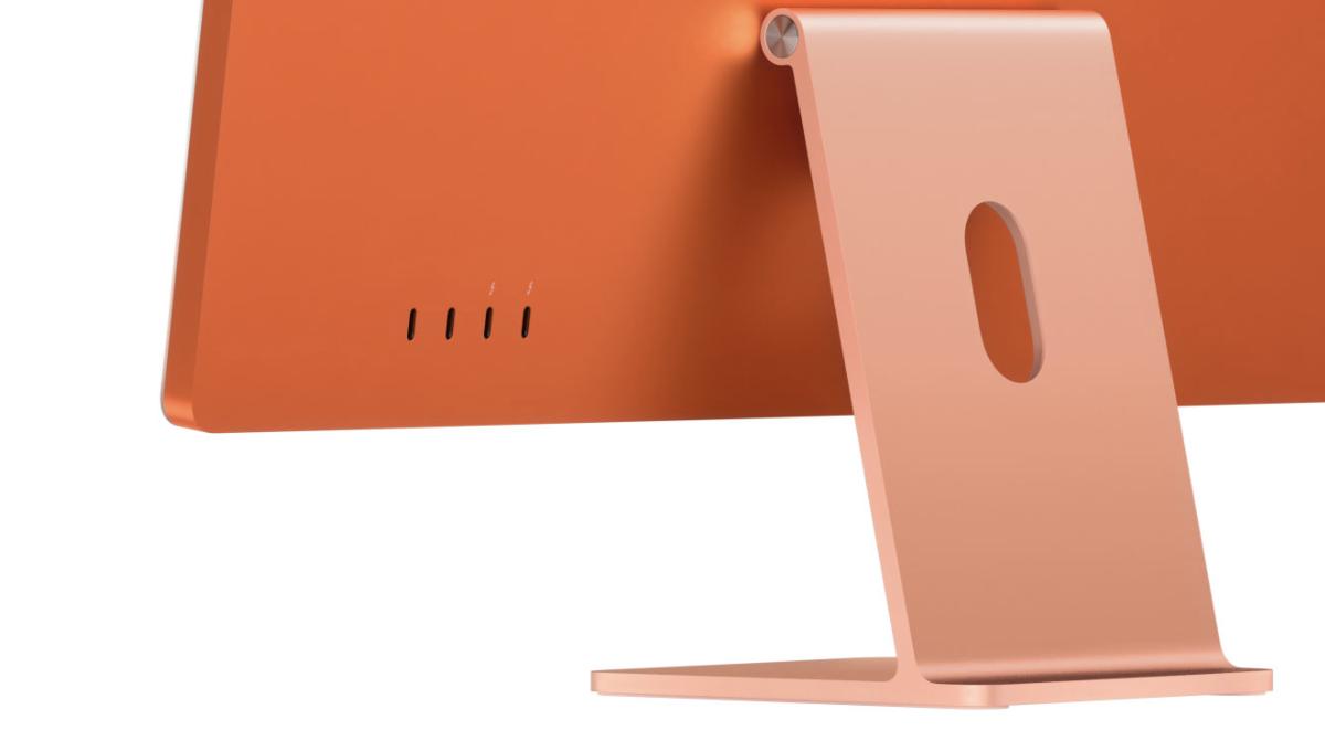 24-inch iMac Ports: 4 USB-C Ports and 1 Headphone Jack, That's All