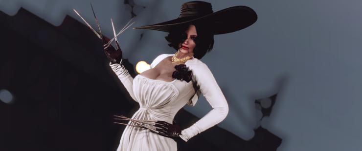 Lady Dimitrescu Fallout 4 Mod