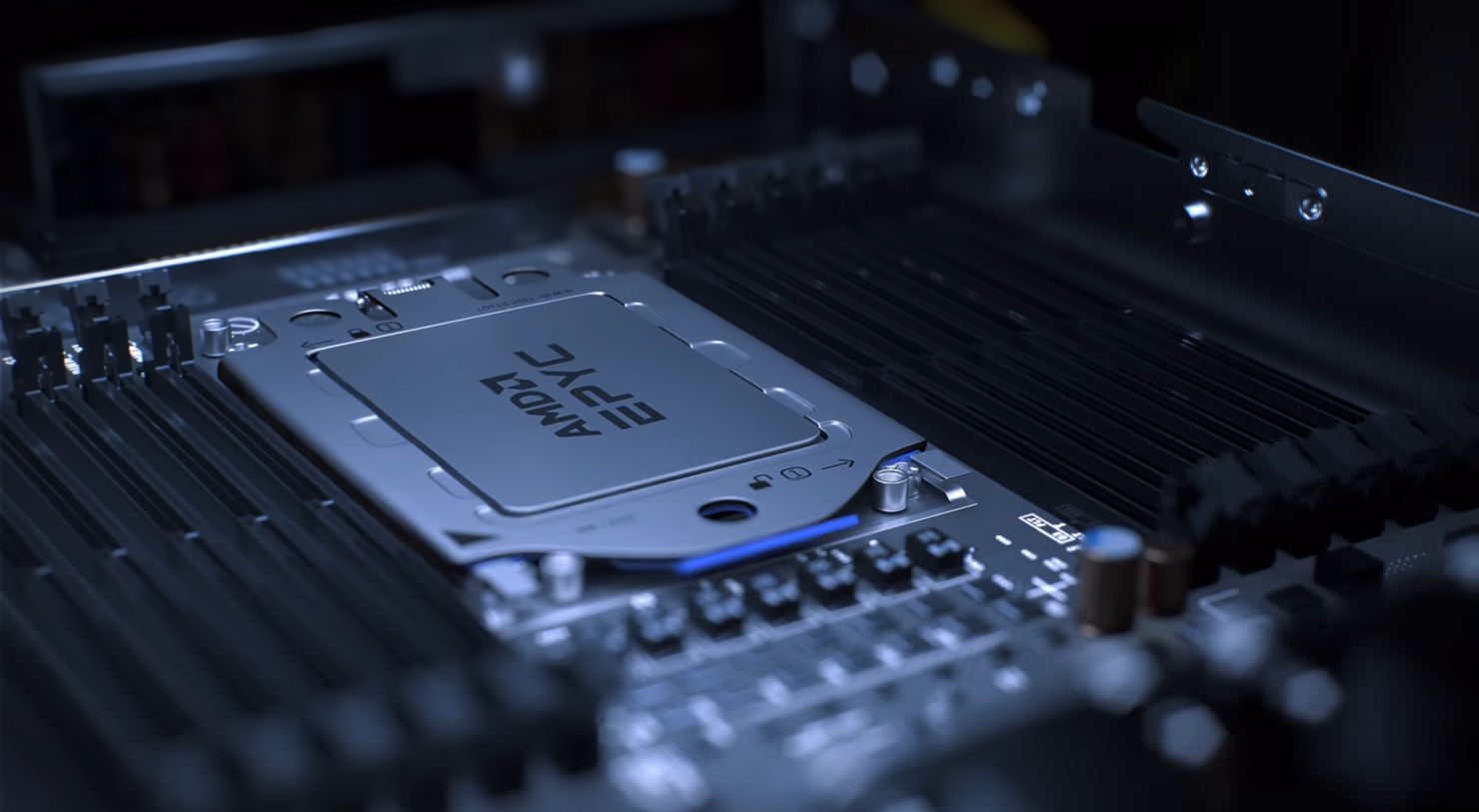 Supercomputers Top500 Intel Xeon AMD EPYC CPUs NVIDIA GPUs _1