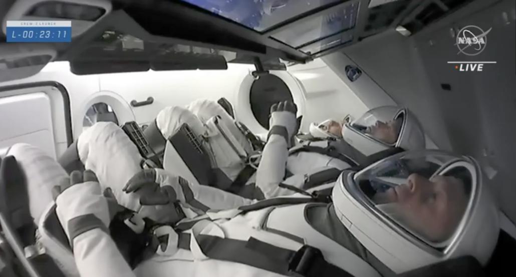 Crew 2 launch astronauts