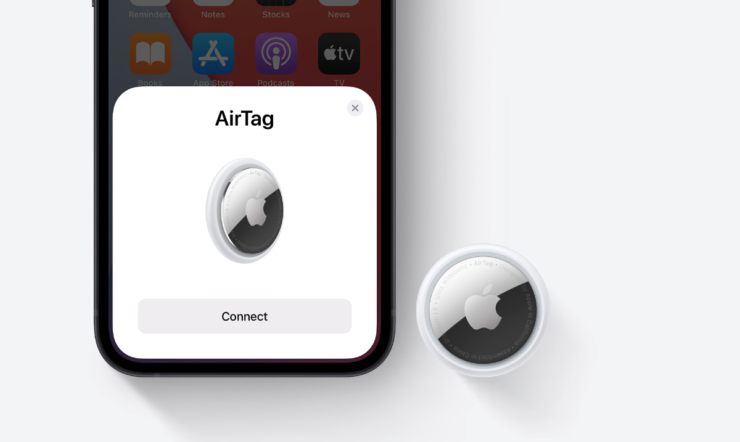 Apple AirTag has a user-replaceable battery