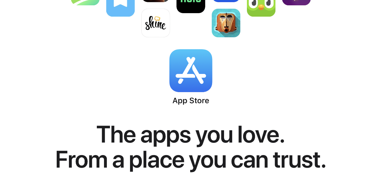 App Store let through a scam app that promised bonuses if you deposited real money and worked with crypto too