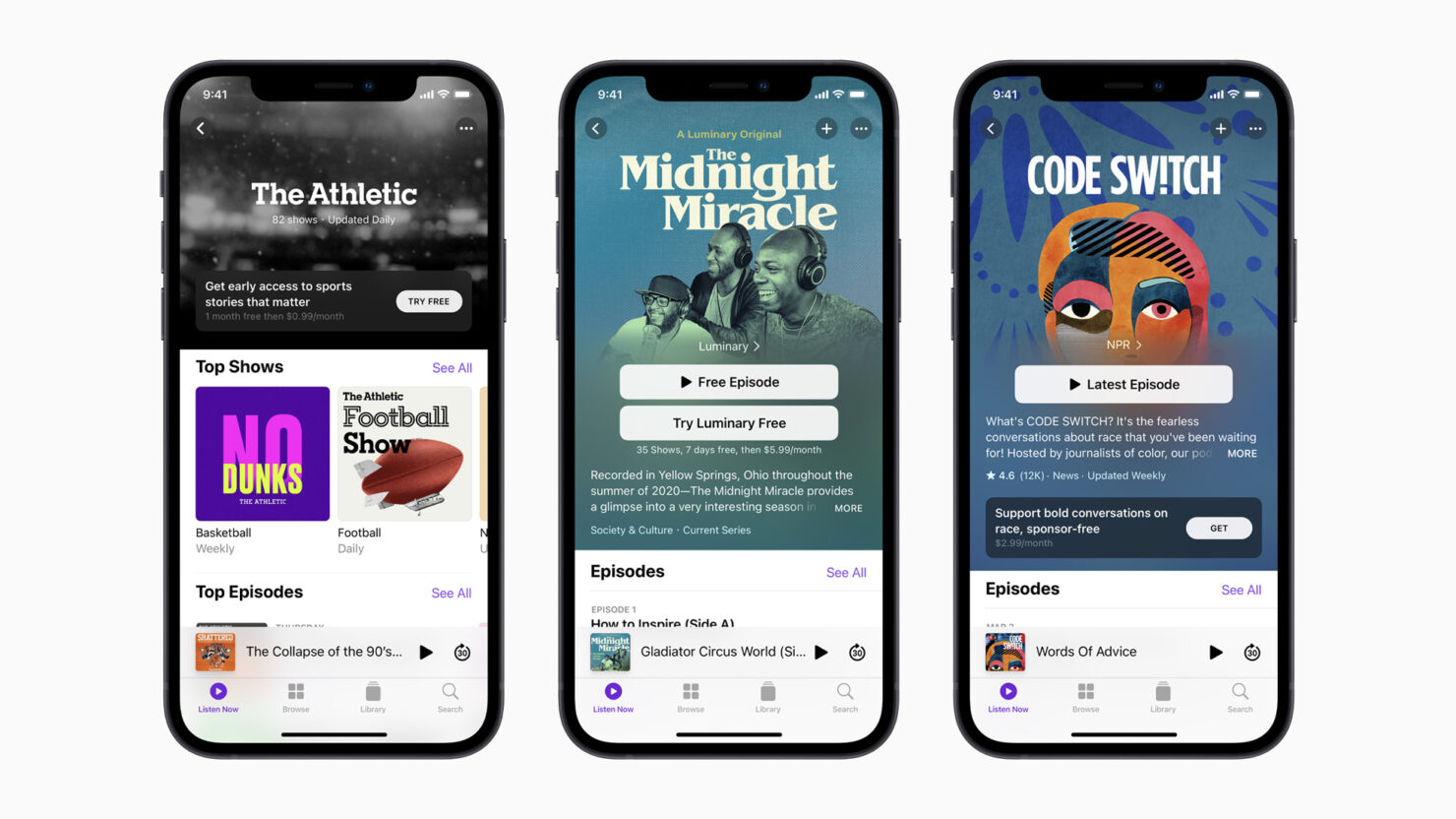 Apple Podcasts Subscriptions Have Gone Official, Will Launch in May