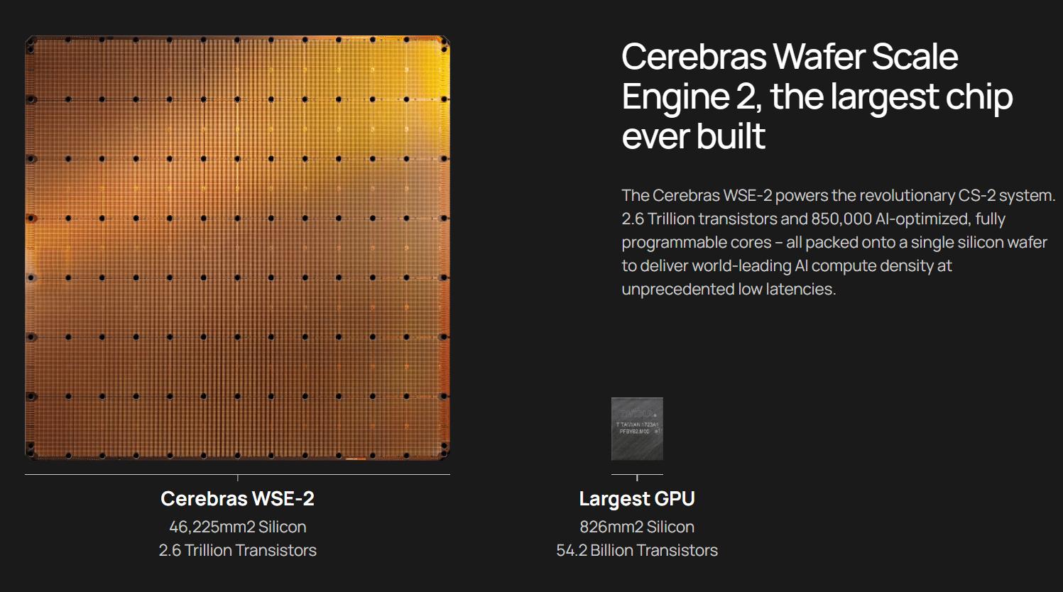 Cerebras Wafer Scale Engine Is A Massive AI Chip Featuring 2.6 Trillion  Transistors & Nearly 1 Million Cores