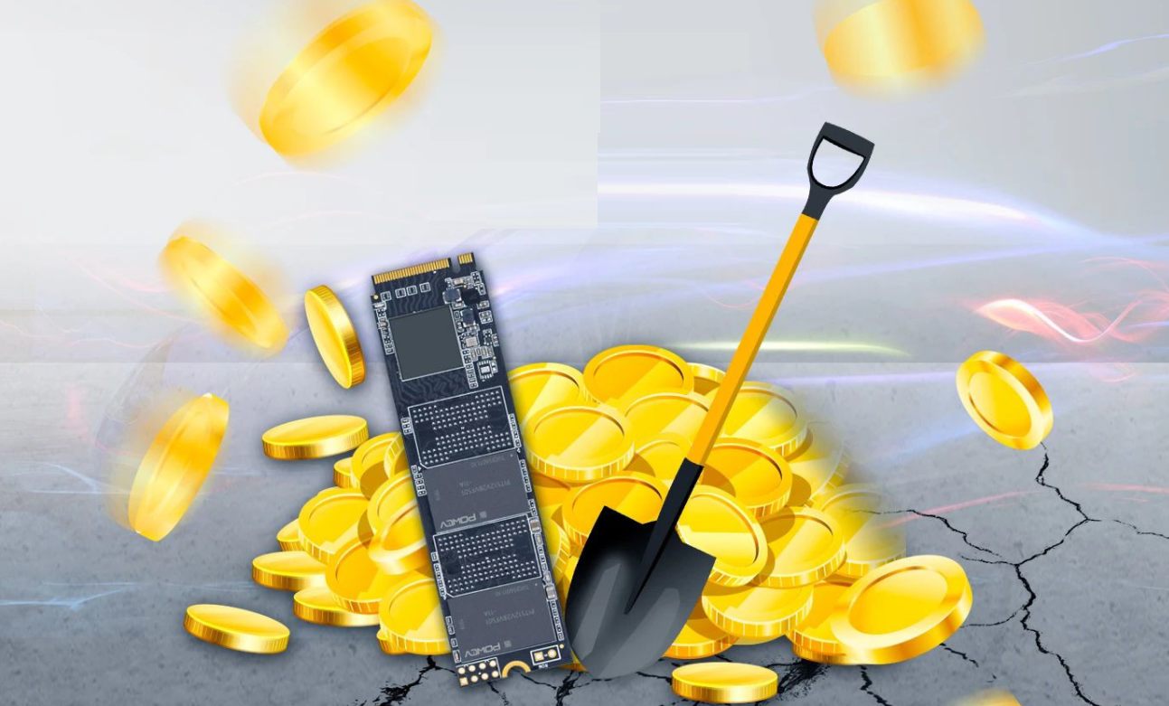 Chinese Manufacturers Begin Production of Cryptocurrency Mining Dedicated SSDs As Chia Coin Gains Popularity