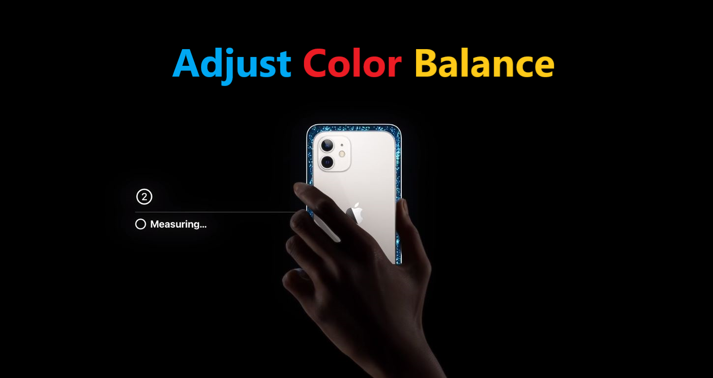 Enable and use Color Balance on tvOS 14.5 with iPhone
