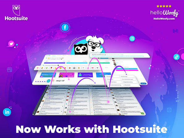 HelloWoofy™ Social Media Management Subscriptions