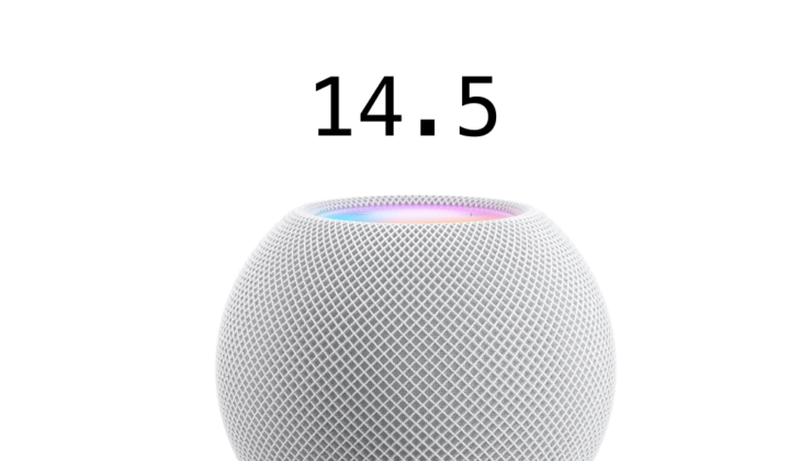 14.5 update for HomePod and HomePod mini now available for download