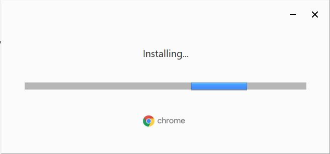 Installing Google Chrome