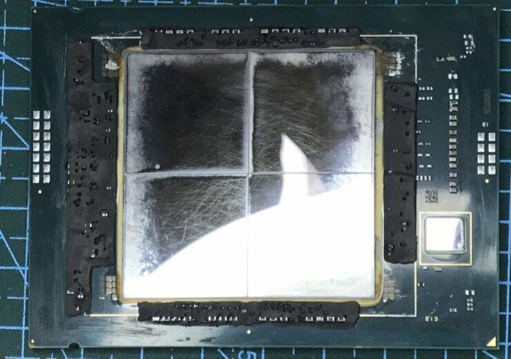 Intel's Next-Gen Xeon Sapphire Rapids Xeon CPU Die Shot Unveils MCM Design & Up To 80 Cores In 4 Chiplets