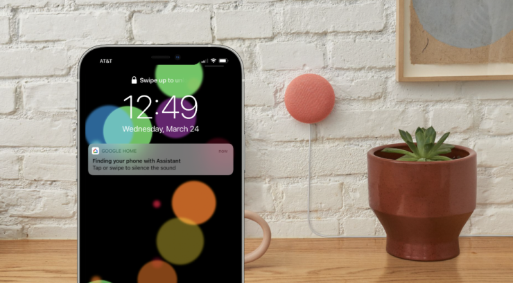 Find your iPhone using Google Assistant