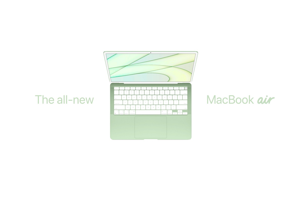 Stunning MacBook Air Concept Takes Design Cues From the New M1 iMac