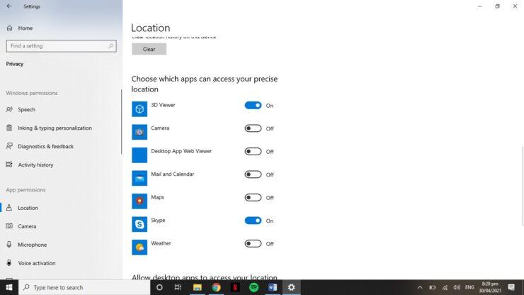 Manage multi app permissions