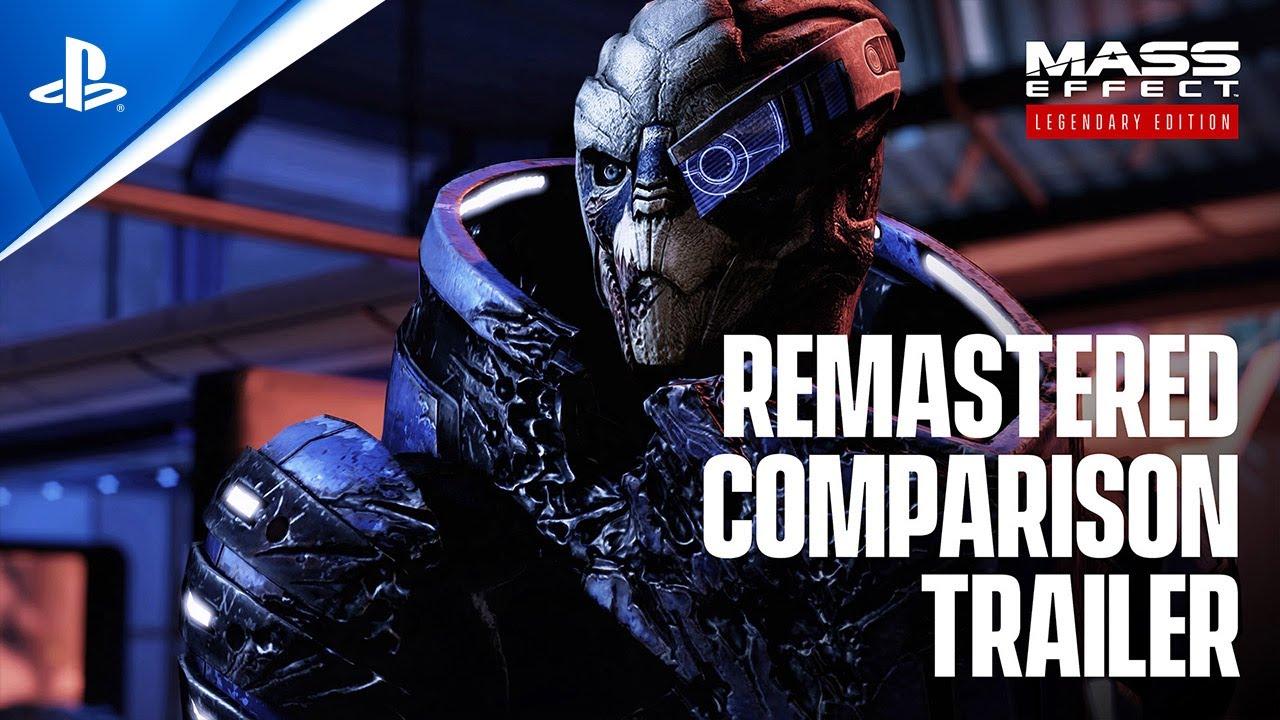 Mass Effect Legendary Edition Comparison Video