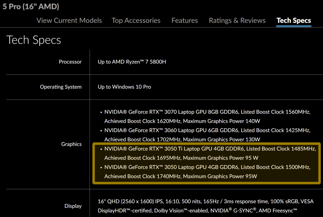 NVIDIA GeForce RTX 3050 Ti & GeForce RTX 3050 Entry Level Ampere Laptop Gaming GPUs