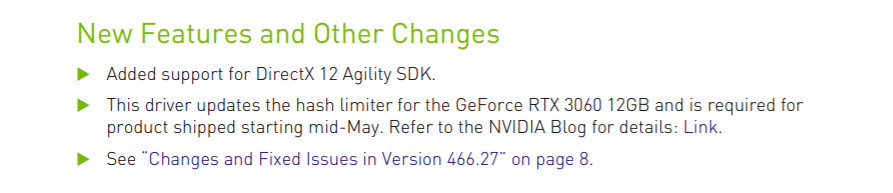 NVIDIA GeForce RTX 3060 Cryptocurrency Mining Hash Rate Limiter