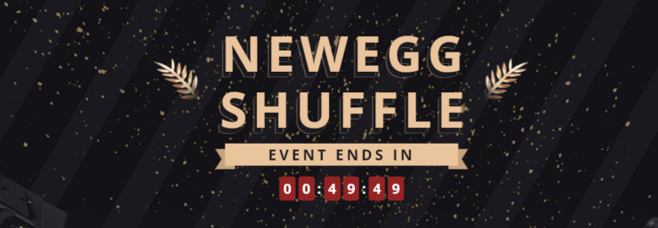 Newegg Shuffle NVIDIA GeForce RTX 3070 & AMD Radeon RX 6700 XT Gaming Graphics Cards