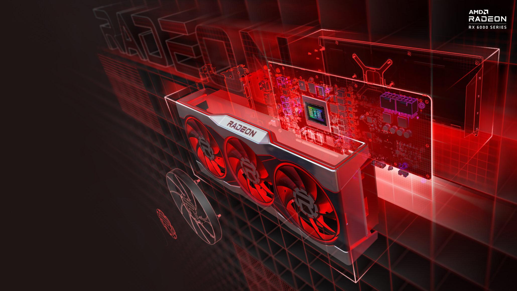 AMD обещает увеличить поставки видеокарт Radeon RX 6000