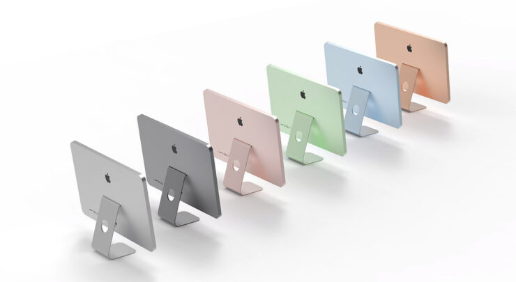 Apple Could Announce Several Colorful and Redesigned iMac Models on April 20, Hints Leakster