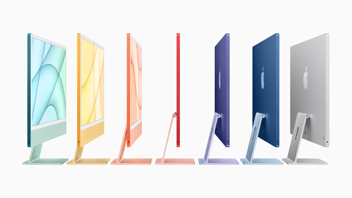 Apple's Redesigned iMac Arrives With the Company's Custom M1 Chip, Along With Multiple Finishes & 4.5K Display