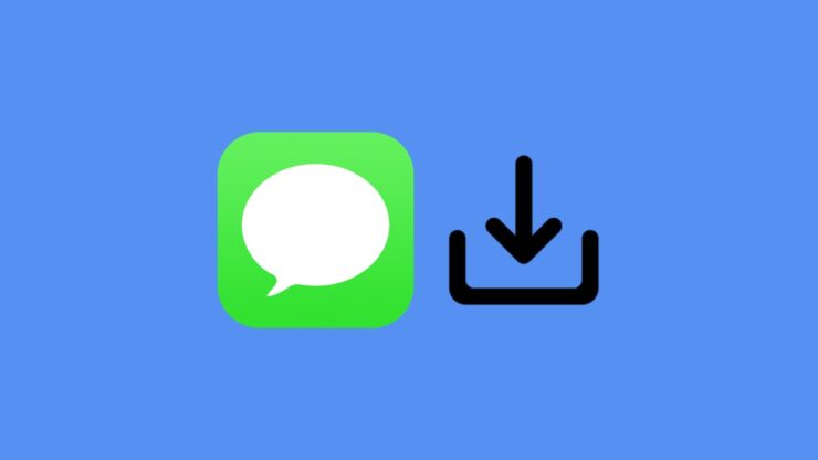 Learn to save iMessage photos and video on iPhone and iPad