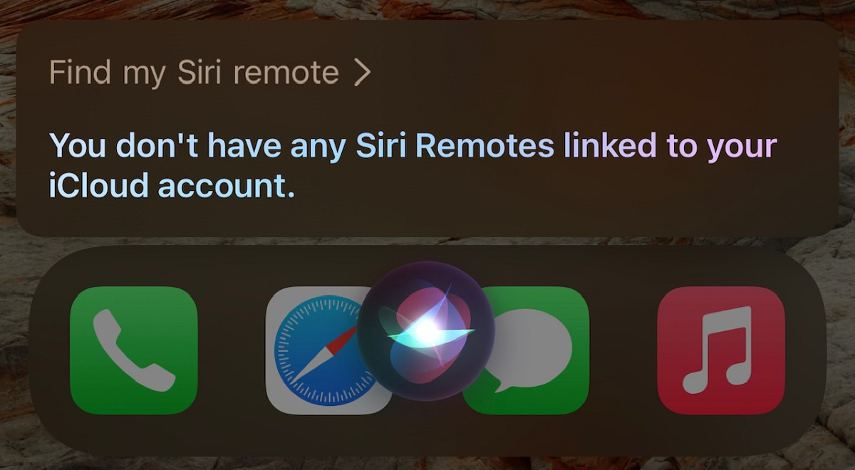 Siri Apple TV Siri Remote Find My Integration title