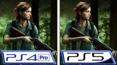 TLOU Part II PS5 vs PS4 Pro Comparison