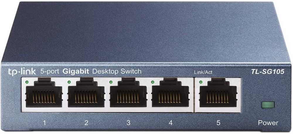 Grab this 5-port gigabit ethernet switch for just $13.99 today