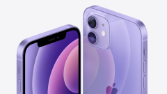 Download purple iPhone 12 wallpaper for any device