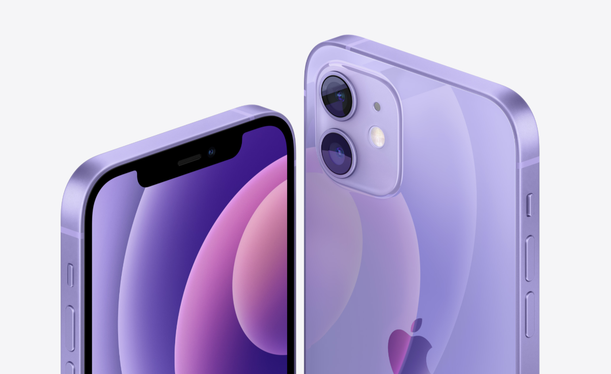 Download New Purple iPhone 12 Wallpaper for Any Device