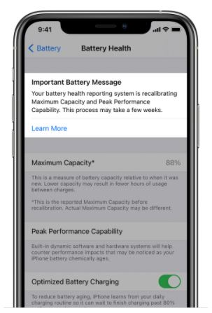 Use Battery Recalibration in iOS 14.5