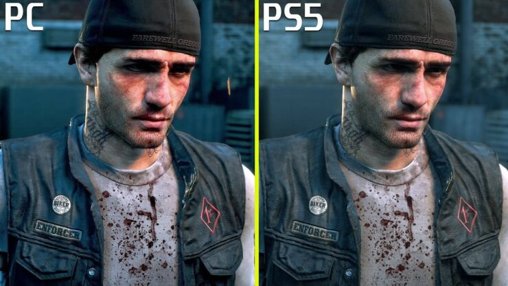 days gone pc vs ps5 ps4 pro