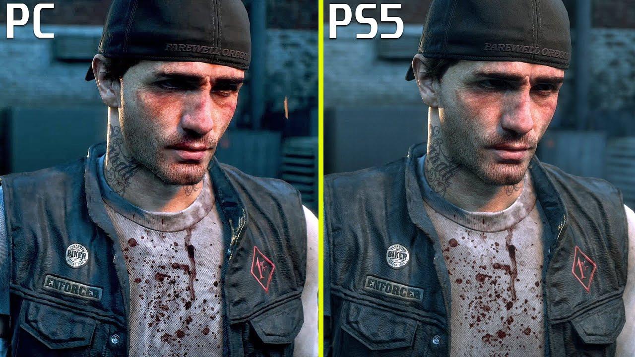 days gone pc vs ps5 ps4 pro