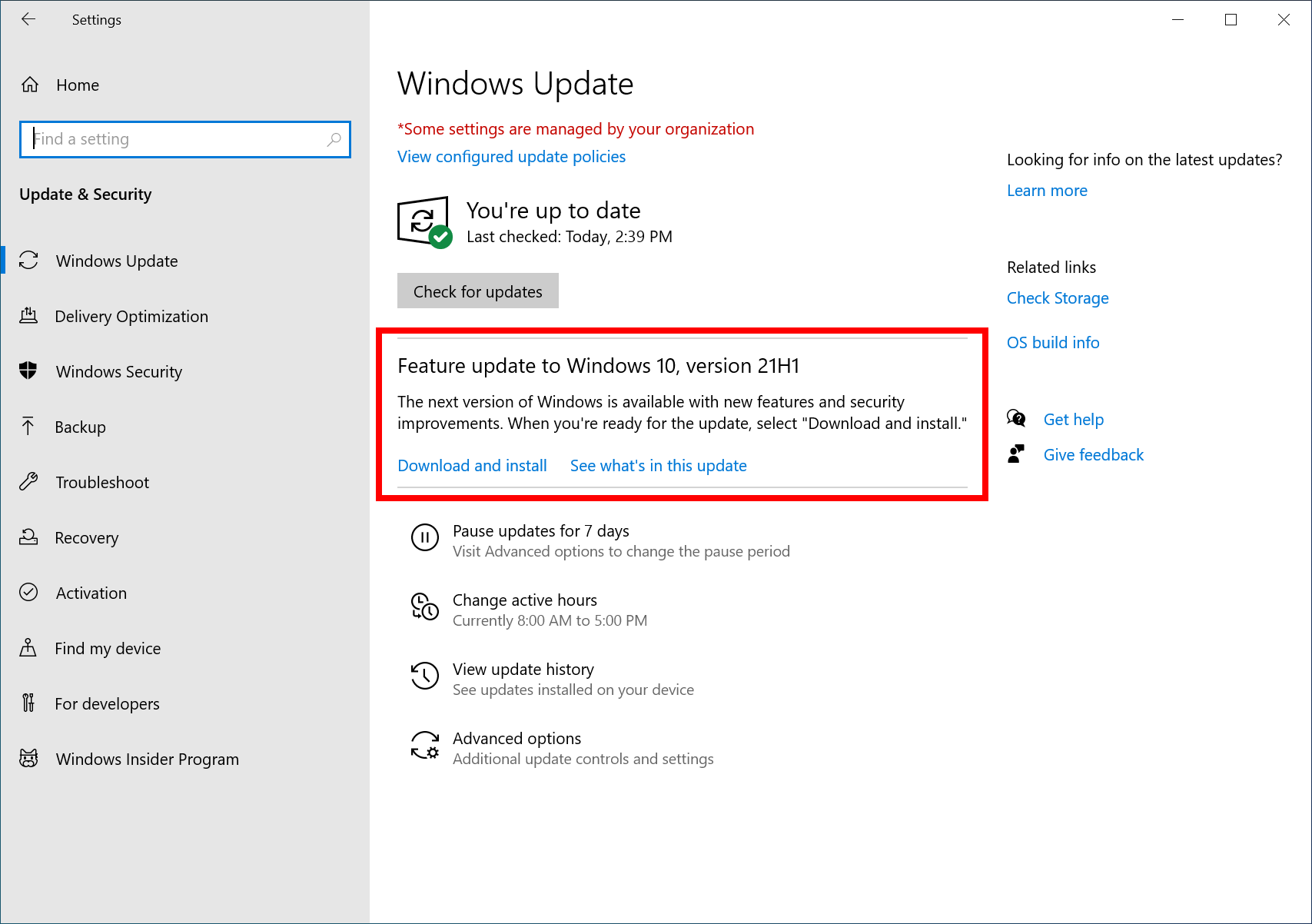 download windows 10 21h1 iso