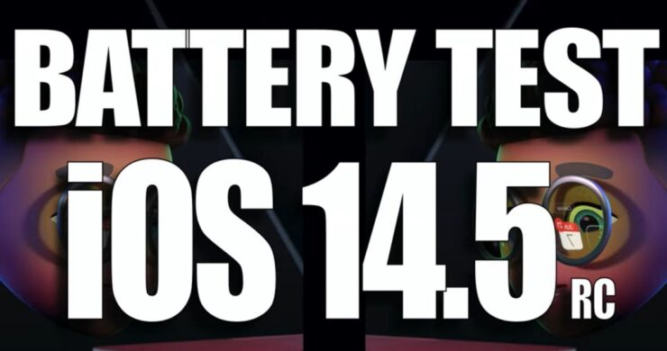 iOS 14.5 Battery Life Comparison on all iPhone models