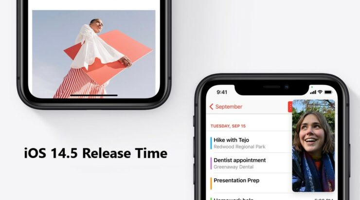iOS 14.5 Release Time in Your Local Time Zone