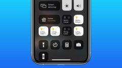 iOS 15 Control Center