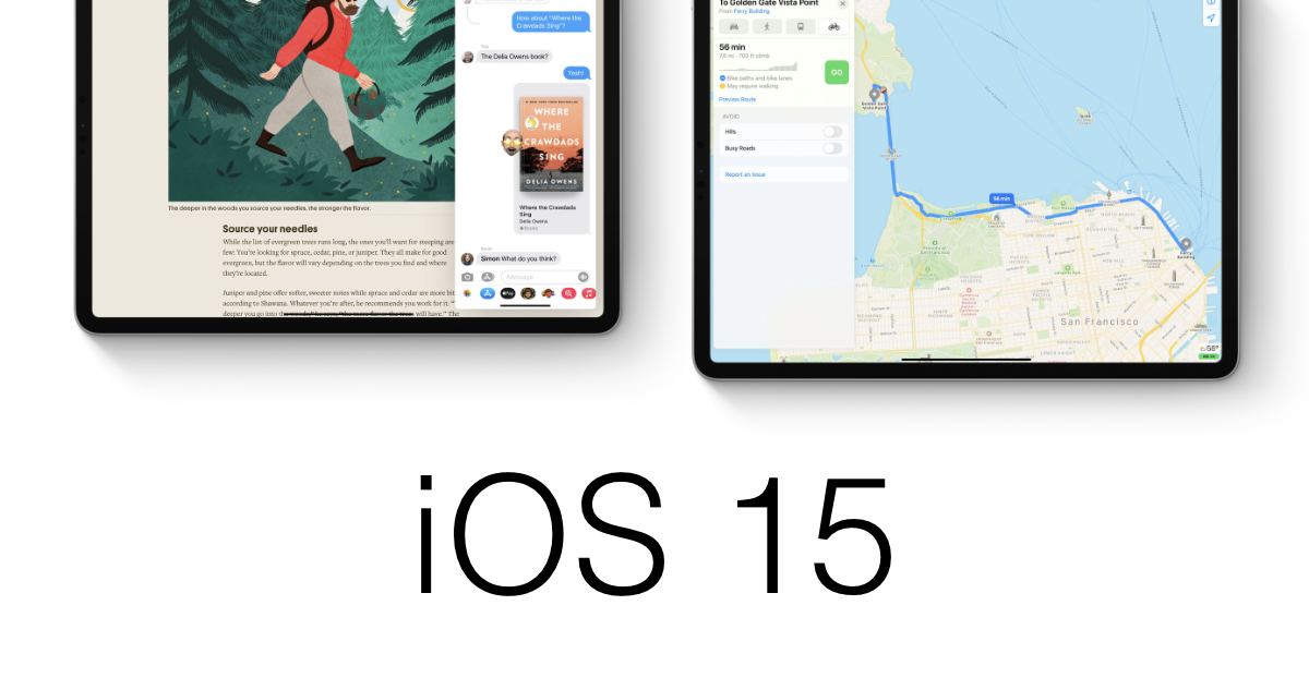 New iOS 15 details have emerged