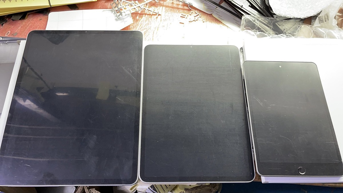 New Leaked Dummy Units Show Design of iPad mini 6 and iPad Pro Models