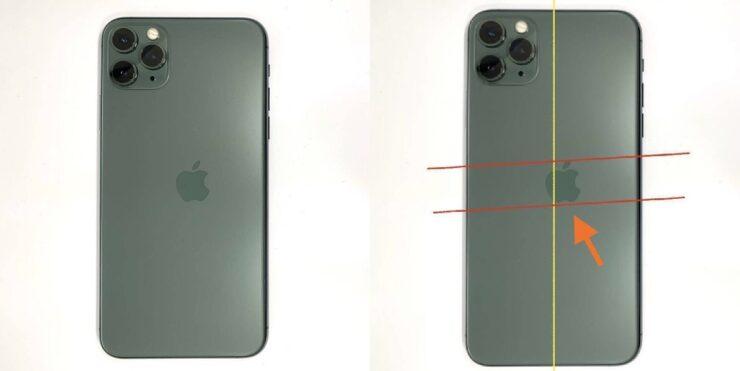 iPhone 11 Pro Misaligned Apple Logo