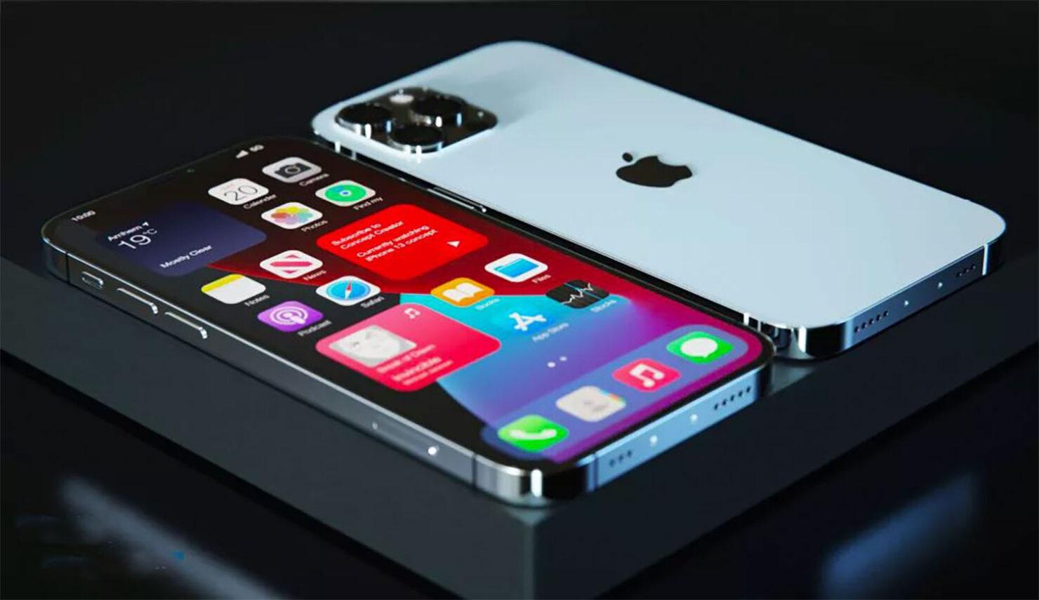 iPhone 13 Camera Layout Diagonal