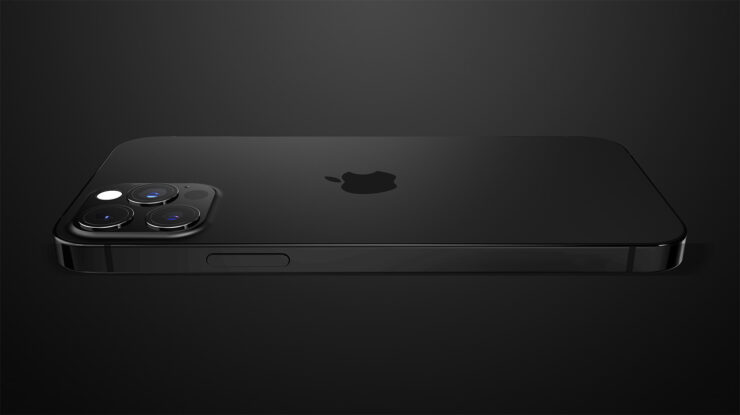 iPhone 13 Pro 3D Mockup Shows Same iPhone 12 Design With Flatter Edges, but With Smaller Notch and Differently Positioned Earpiece