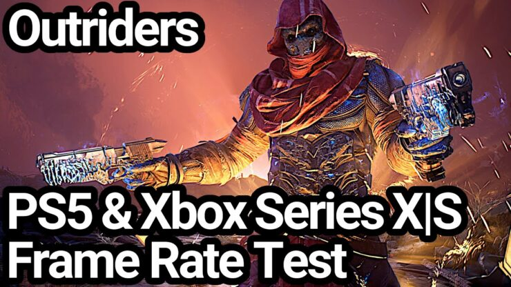 outriders ps5 vs xbox series framerate test