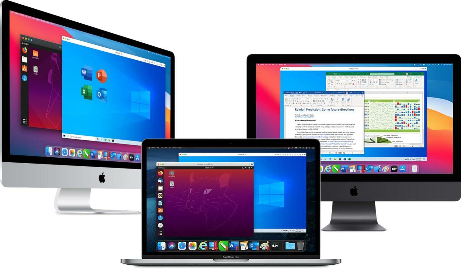 parallels desktop 16.5 apple m1 windows 10 on arm