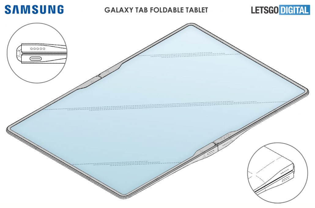 Galaxy Z Fold Tab Could be Samsung's Triple-Folding Tablet for Next Year