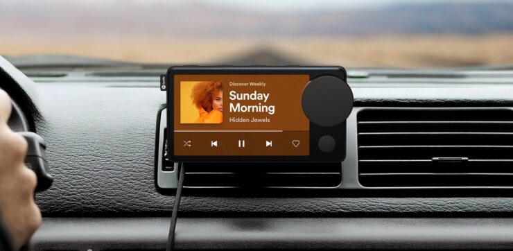 Spotify 'Car Thing' is the First Music and Podcast Player by the Company