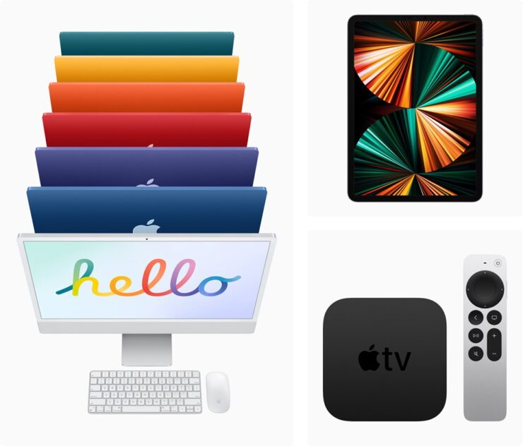 New 24-inch iMac, iPad Pro and Apple TV 4K will be available in stores this Friday