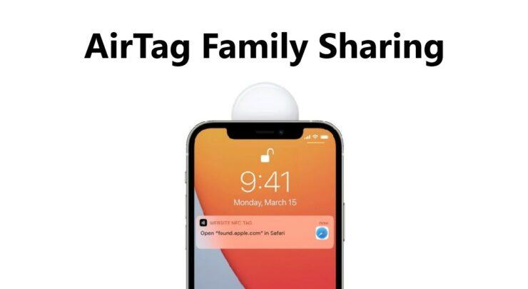 AirTag Family Sharing